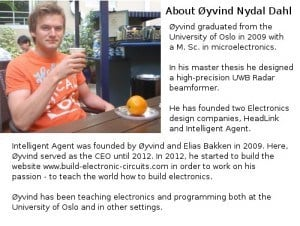 Brief Summary of Oyvind Nydal Dahl