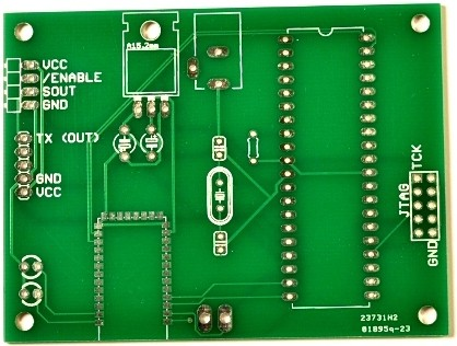 A manufactured circuit board