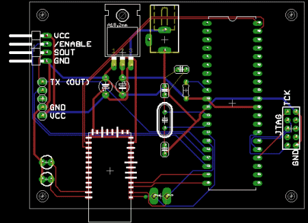 PCB Design of an RFID Circuit