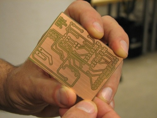 DIY PCB Etched Circuit Board