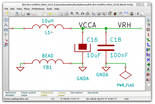 PCB Design Software Screenshot of KiCad