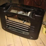 1937 philips radio stripped