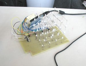 Arduino LED Cube Circuit