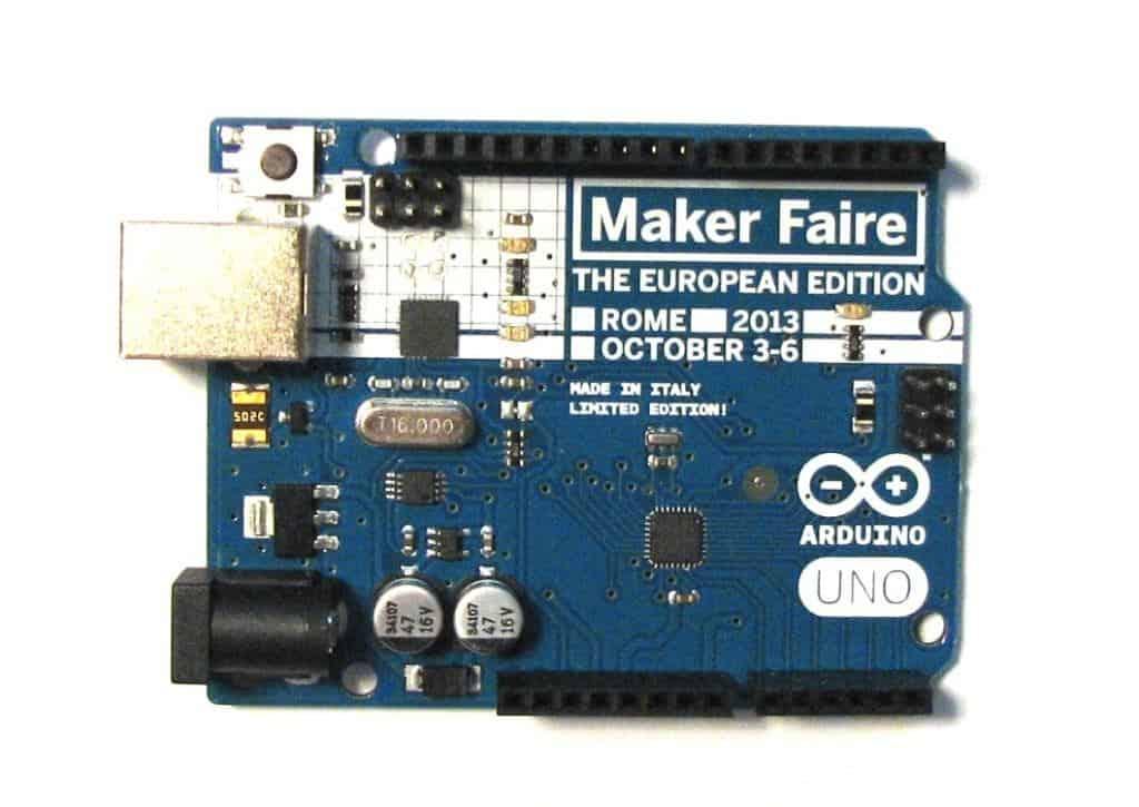 Arduino Uno - MakerFaire Rome Edition