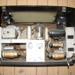 Inside Old Philips Radio
