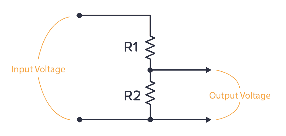 The basic voltage divider circuit