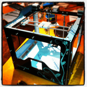 3D printer hipsterbot