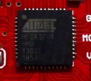 ATmega32u4 USB chip