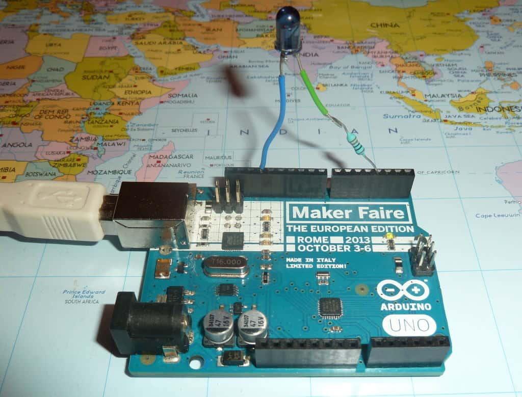how to send signal form arduino to rc receiver