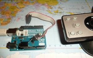 Arduino with IR receiver