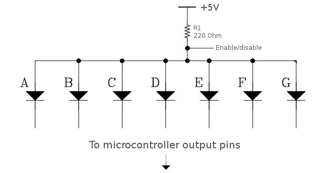 digital stopwatch circuit