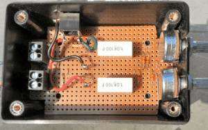 A homemade sound card oscilloscope