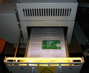 The reflow soldering technique