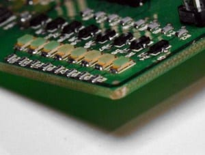 SMD Components on a PCB