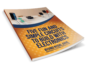 Five fun and simple circuits to build with electronics (3d cover)