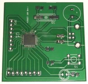 Microcontroller tutorial soldering