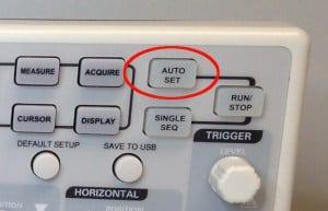 Auto Set button
