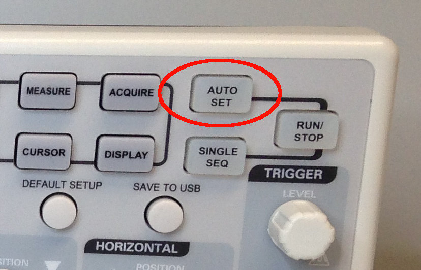 Auto Set button