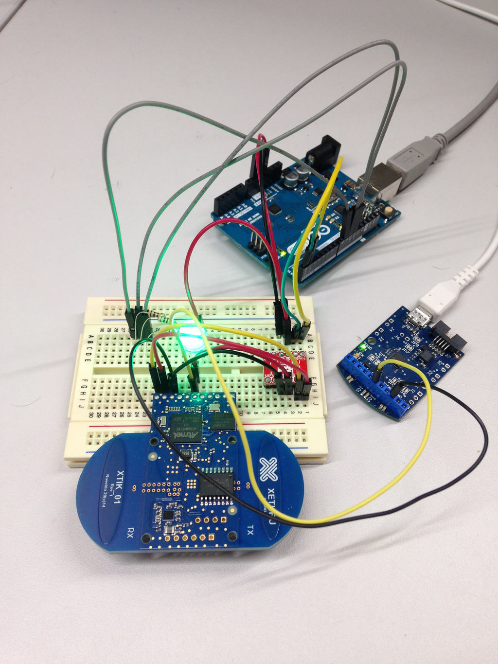 Radars Can See Through Walls Build Electronic Circuits Your Own Arduino Circuit On A Breadboard Radar