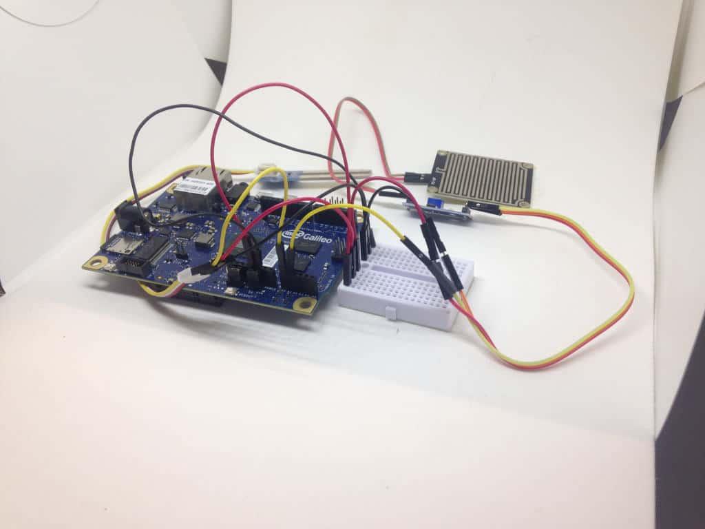 intel galileo board sensors