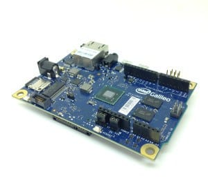 Getting started with Intel Galileo Board