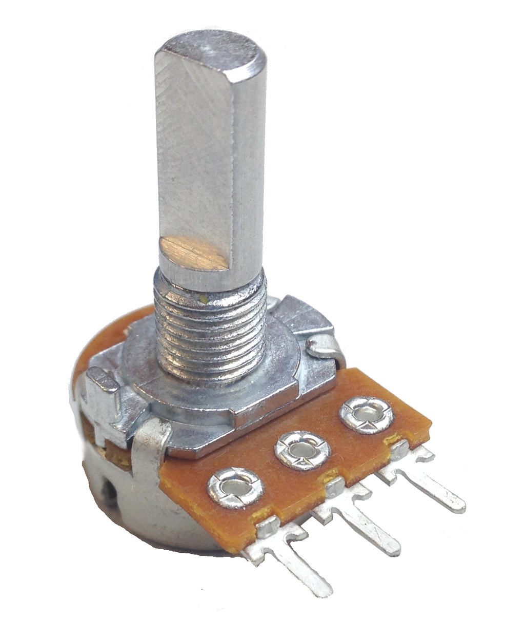 The Potentiometer And Wiring Guide Build Electronic Circuits Lights In Series Complete Electrical Electronics Rotary