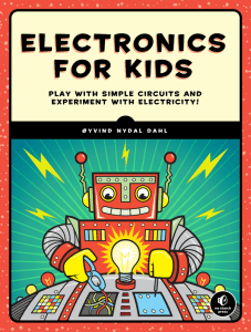 Electronics for kids by Oyvind Nydal Dahl (Front cover)