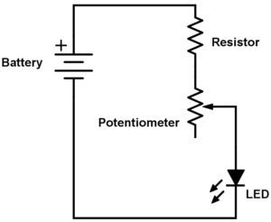 potentiometer wiring diagram wiring diagram table Fan Wiring Schematic