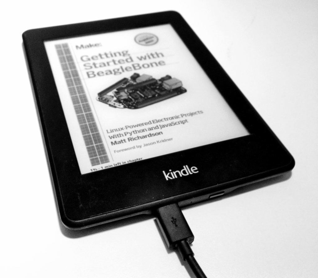 Getting started with beaglebone on a Kindle