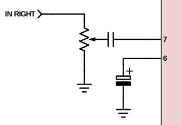 Potentiometer on volume control wiring diagram