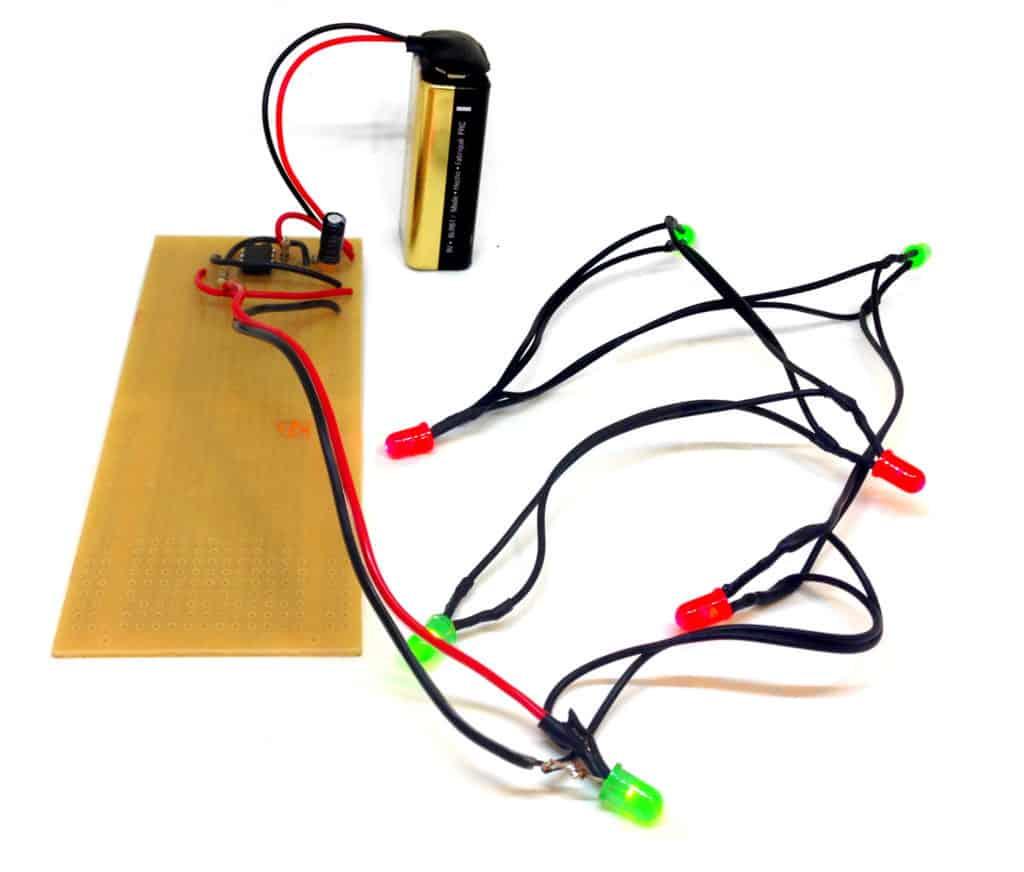 blinking christmas lights circuit