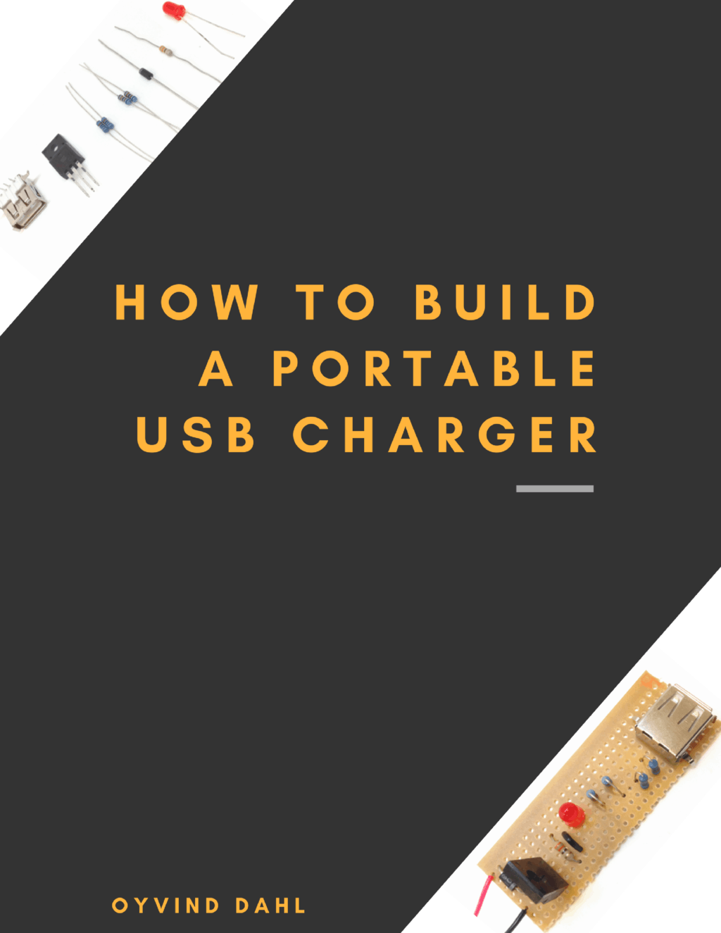 how to build portable phone charger