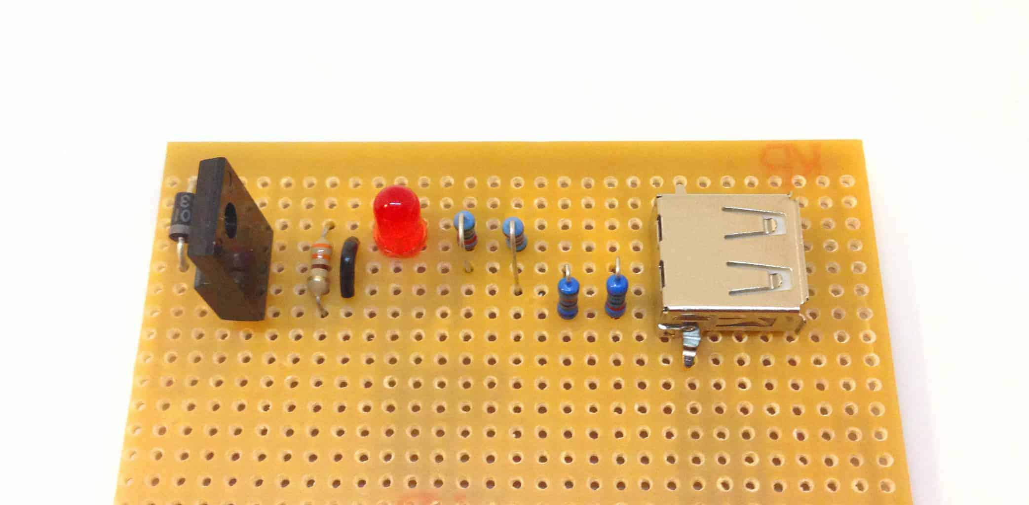 Portable USB Charger Circuit - Build Electronic Circuits