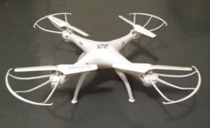 My drone after repair