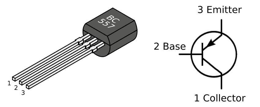 bc557-pinout