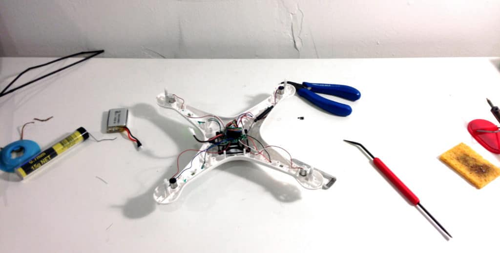 How to repair electronics - repairing my drone
