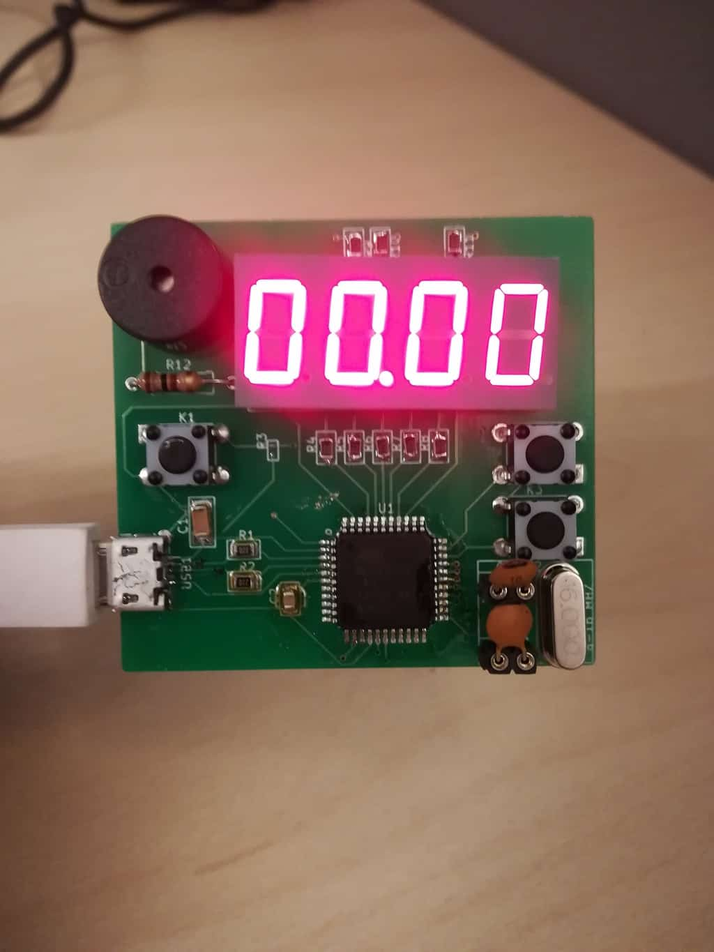 Alarm Clock Prototype Build Electronic Circuits Thermometer Circuit With Explanation Yesterday I Finished Up The First Version Of Code