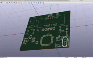 3D Viewer in Kicad