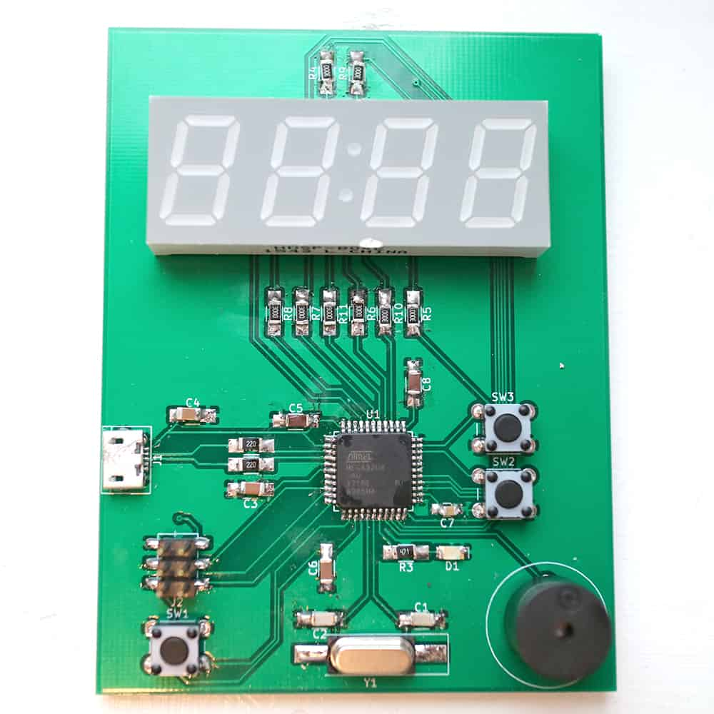 New Course Available Kitchen Timer Build Electronic Circuits Creating A Microcontroller Circuit Board At The Beginning Of October I Went To Sweden Create Something