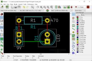 PCB Design of a simple LED board