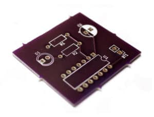 Example PCB from Ohmify