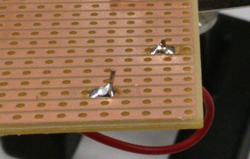How to solder step 4