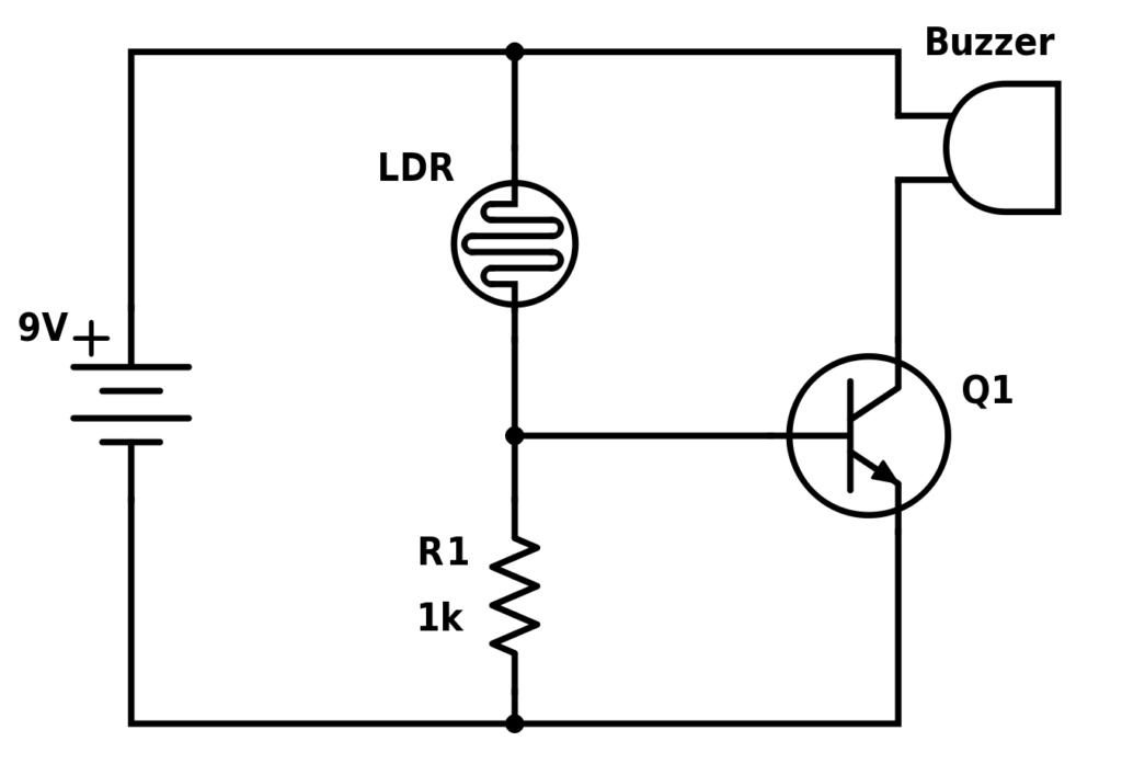 O alarme de despertar do nascer do sol - construir circuitos eletrônicos 1