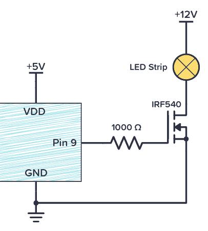 Arduino MOSFET transistor driver